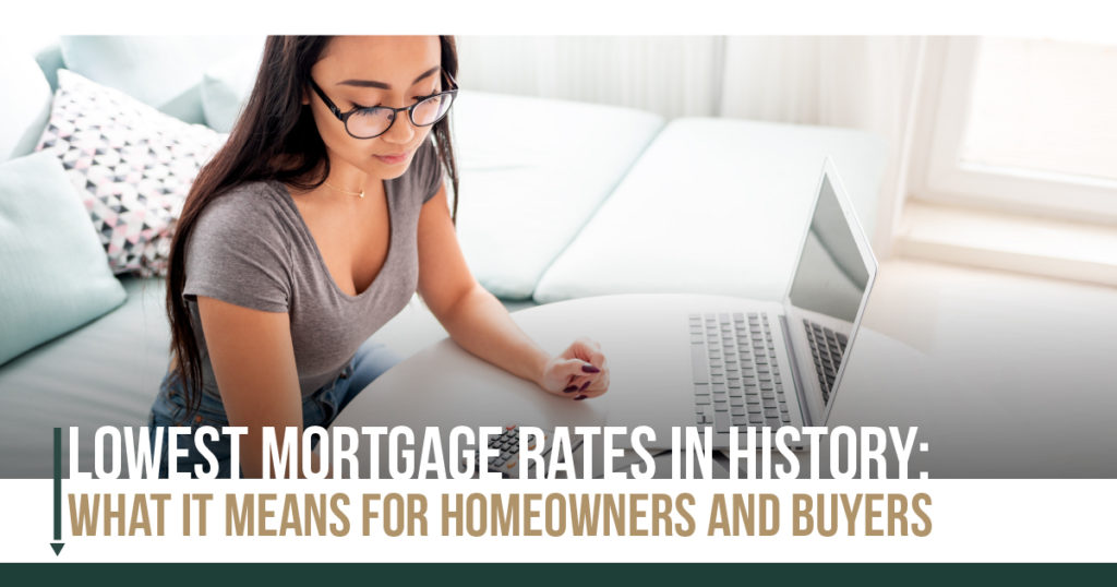 Lowest Mortgage Rates in History