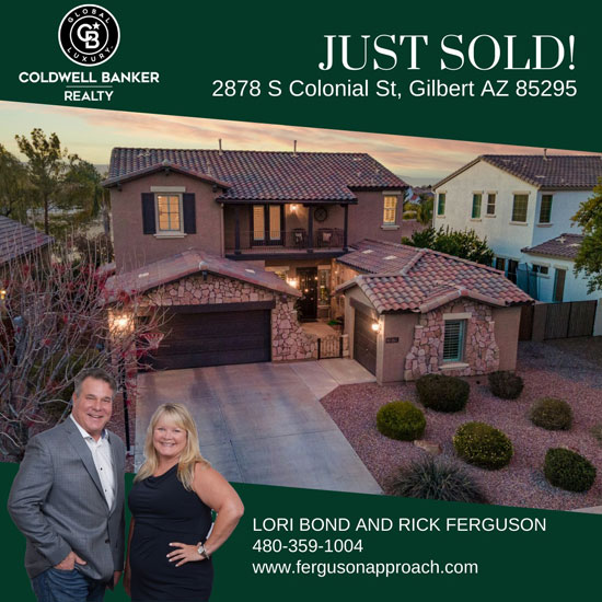 Gilbert home recently sold.